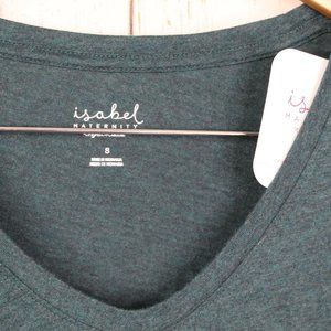 Isabel Maternity by Ingrid & Isabel Tops - NWT Isabel maternity green long sleeve